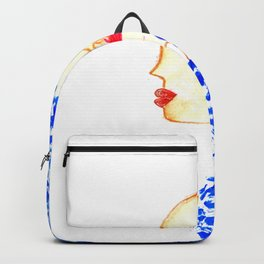 Blue Cleopatra Backpack