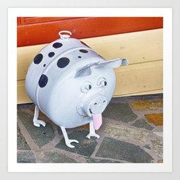 This little piggy went to market Art Print