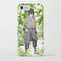 sasuke iPhone & iPod Cases featuring Sasuke by tanduksapi
