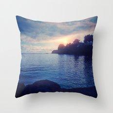 Sunset I C. II Throw Pillow