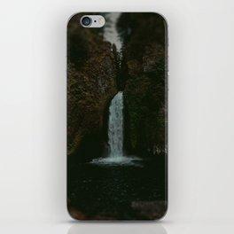 Wahclella Falls x Oregon Waterfall iPhone Skin