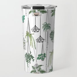 hanging pots pattern Travel Mug