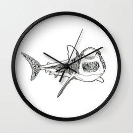 Shark Talk Original Wall Clock