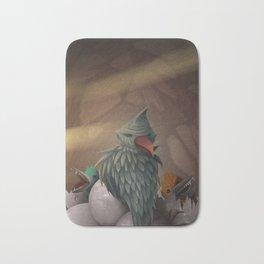 Bird nest Bath Mat