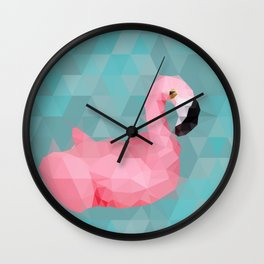 Flamingo Gang: Lucy Wall Clock