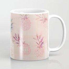 Soft Pastel Pineapple Summe Pattern Coffee Mug