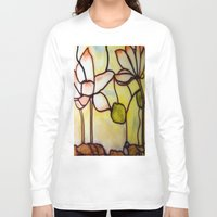 stained glass Long Sleeve T-shirts featuring Stained Glass by Debra Ulrich