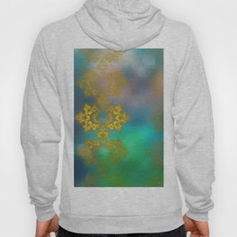 Gold lace decoration Hoody