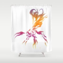 Ichnuemon 2 Shower Curtain