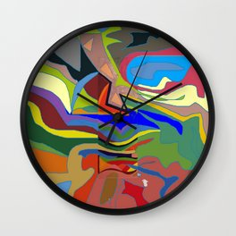 Color Theory of the Firmanent - accepted. Wall Clock