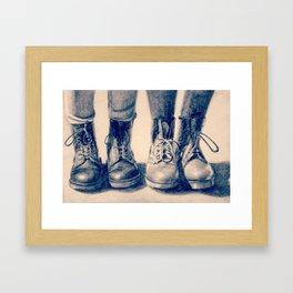 Dr Marten Framed Art Print