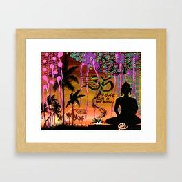 """""""ZAZEN"""" Framed Art Print"""