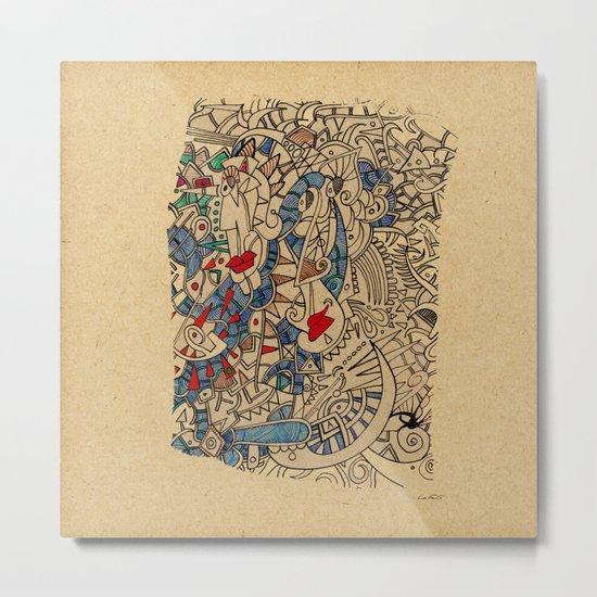 - medieval - Metal Print