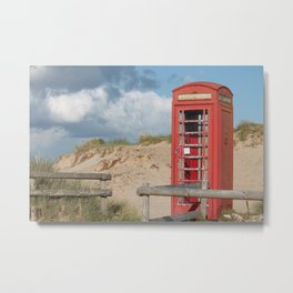 Hello? I can't hear you, I have sand in my ears.... Metal Print