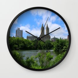 San Remo Towers And The Lake Wall Clock