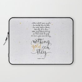 Nothing gold can stay Laptop Sleeve