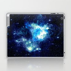 Galaxy NEbula. Teal Turqouise Blue Aqua Laptop & iPad Skin