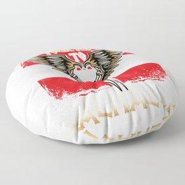 Valkyrie your ride to Valhalla Austria T-Shirt Floor Pillow