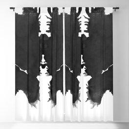 Rorschach Inkblot 06 Blackout Curtain