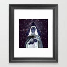 ♀ Holly Space Mother ♀ Framed Art Print