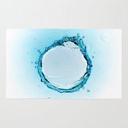 Water Splash 2 Rug