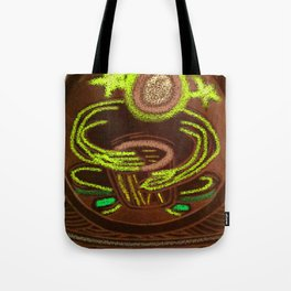Shamanic Drummer - Healer Tote Bag