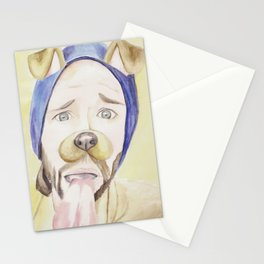 Jared Padalecki, watercolor painting Stationery Cards