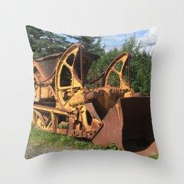 Final Resting Place Throw Pillow