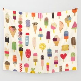 Pop Pop Popsicles! Wall Tapestry