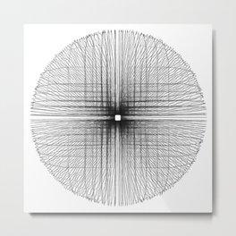 Square wheel Metal Print
