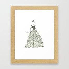 The Belle of the Ball Framed Art Print