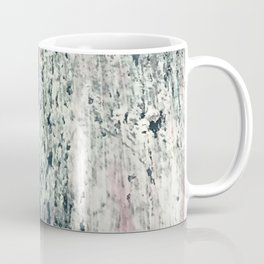 Kelly [2]: a bold, textured, abstract mixed media piece in fall colors/ blue, burnt sienna, ochre Coffee Mug