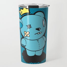 Blue Dead Bear Travel Mug