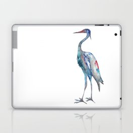 Crane #1 - Ink painting Laptop & iPad Skin