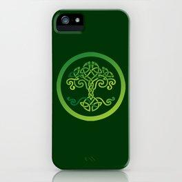 Celtic Wisdom Tree iPhone Case