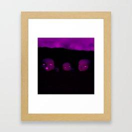 Children of the Haze Framed Art Print