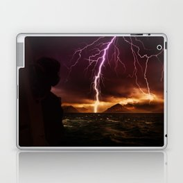 Storm seen from a helicopter by GEN Z Laptop & iPad Skin
