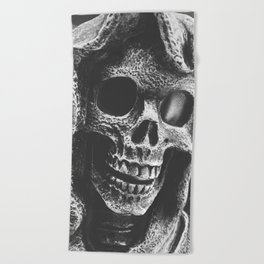 Grim Reaper Beach Towel