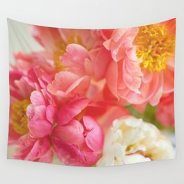 My Little Peonies Wall Tapestry