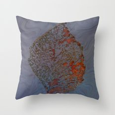 Autum Leaf Throw Pillow