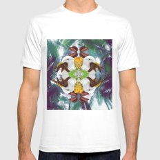 Polya-artist-print MEDIUM White Mens Fitted Tee