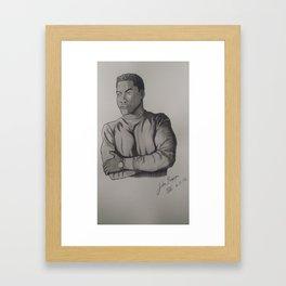 John Boyega Fanart - 2 Framed Art Print