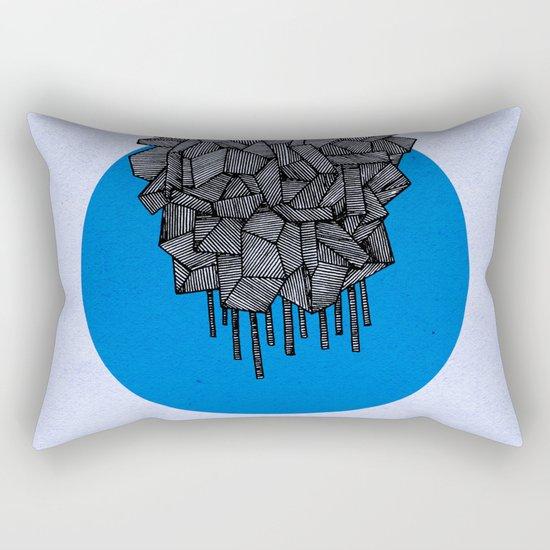 - future grey - Rectangular Pillow