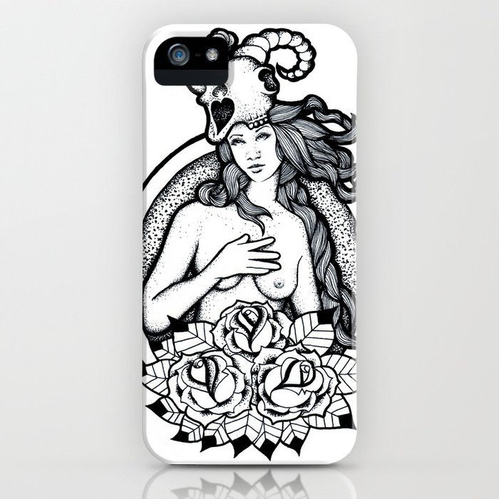 A Passing Glance iPhone Case