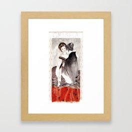 Alina & the Darkling Framed Art Print