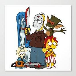 The Grimsons Canvas Print