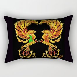 Phoenix Duality Rectangular Pillow