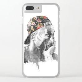 KobeBryant Clear iPhone Case