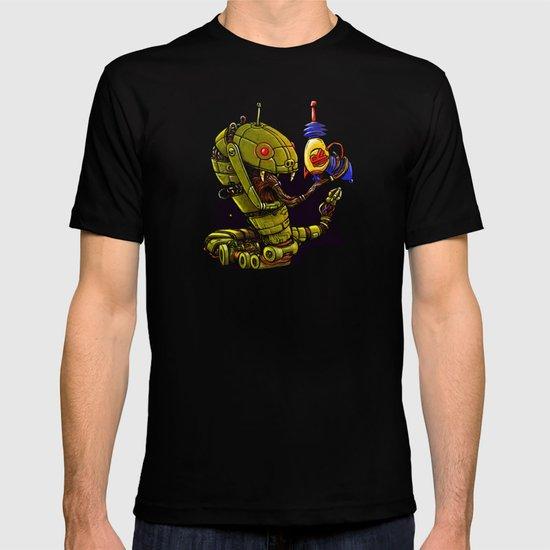 Robot Reptile Raygun T-shirt