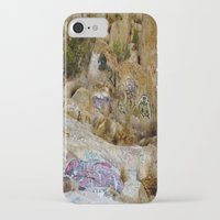 grafitti iPhone & iPod Cases featuring Rock Grafitti by Sydney Major